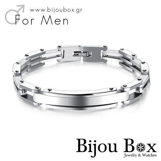 Men's bracelet stainless steel DOM Βραχιόλι ανδρικό ατσάλινο DOM Check out now... www.bijoubox.gr #BijouBox #Men #Bracelet #Βραχιόλι #Handmade #Χειροποίητο #Greece #Ελλάδα #Greek #Κοσμήματα #MadeinGreece #Christmas #Gift #Luxus #Passion #jwlr #Jewelry #Fashion #GoodVibes