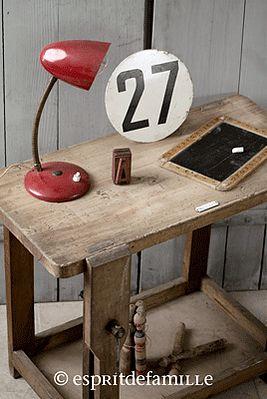 Les 25 meilleures id es de la cat gorie etabli enfant sur pinterest tabli - Objets vintage en ligne ...