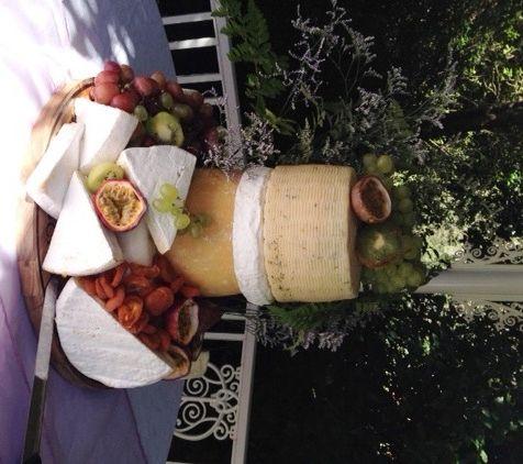 Cheese & Fruit Cake