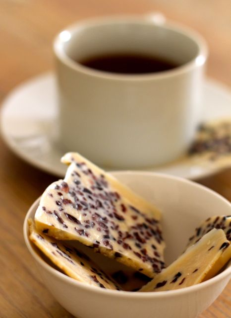 Almond Butter Bark- sugar free