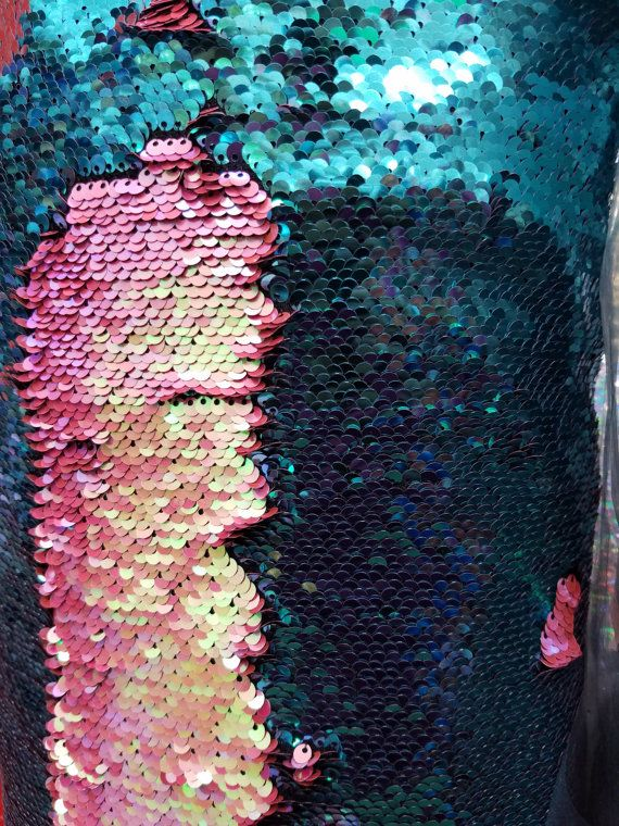 5mm Flip-Up Sequin Fabric by the yard. Colors are in listing Great for Gatsby…