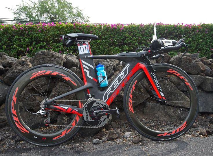 "Mirinda ""Rinny"" Carfrae rode the 2014 Felt IA to her second Ironman world title."
