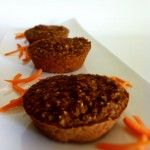 Carrot Cake Protein Bars (Carrot Cake Protein Muffins)