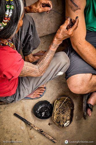 Whang Od Tattooing