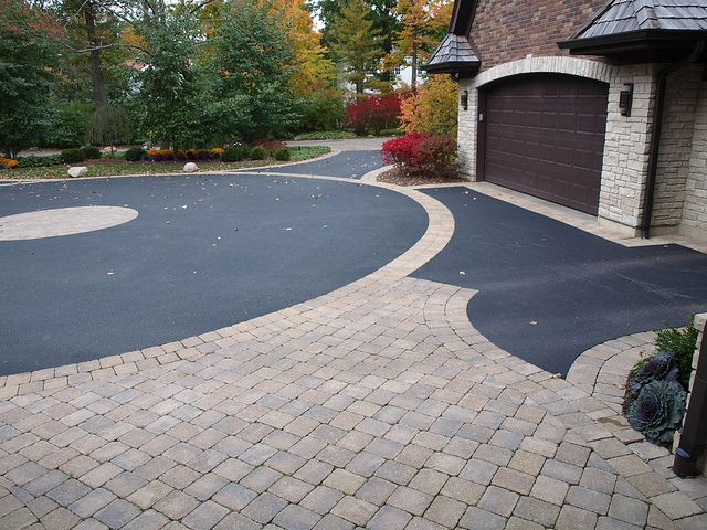 Asphalt paver driveways | Concrete Pavers Asphalt Driveway | Flickr - Photo Sharing!