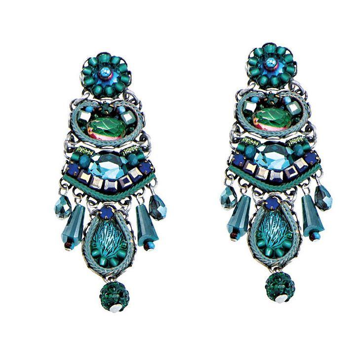 Ayala Bar Emerald Cove Post Earrings