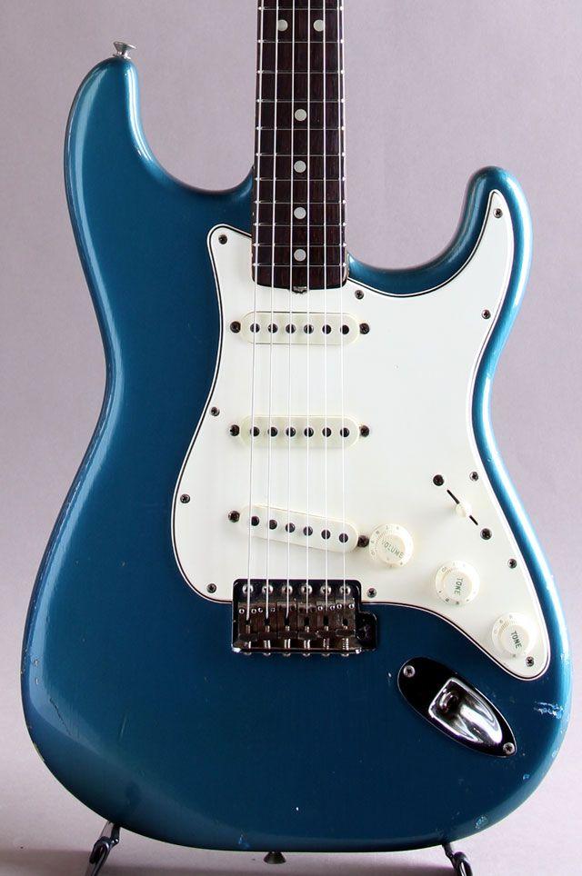 FENDER/USA[フェンダー/ユーエスエー] Stratocaster Lake Placid Blue 1965 ,ビンテージ楽器 | MIKIGAKKI.COM 三木楽器の店舗在庫通販と店舗情報