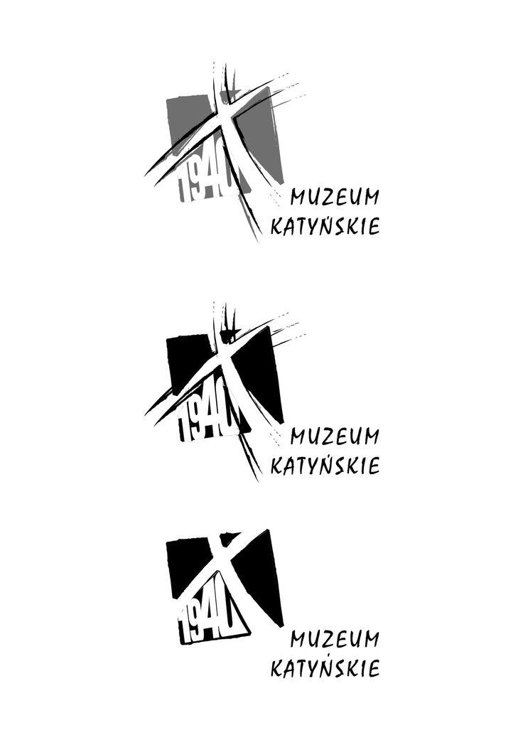Projekt logo Muzeum Katyńskie