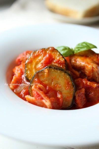 フライパンで簡単☆チキンとズッキーニのトマト煮 by にがはっぱ 平沢あや子 | レシピサイト「Nadia | ナディア」プロの料理を無料で検索