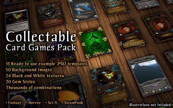 10 Collectable Card Templates Card Templates Cards Collectible Card Games