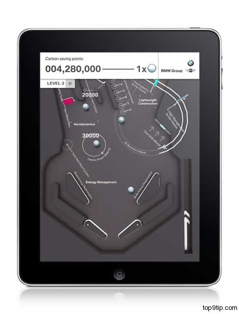 BMW Dynamics Pinball iPhone App