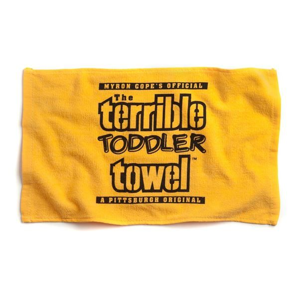 Picture of Pittsburgh Steelers The Terrible Toddler Towel
