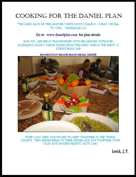 Daniel Plan Cookbook