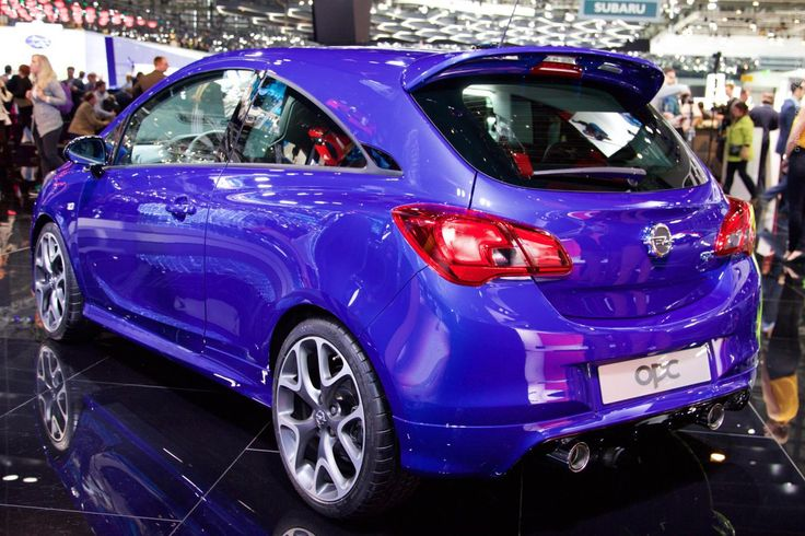 2015 Opel Corsa OPC (Geneva International Motor Show 2015)
