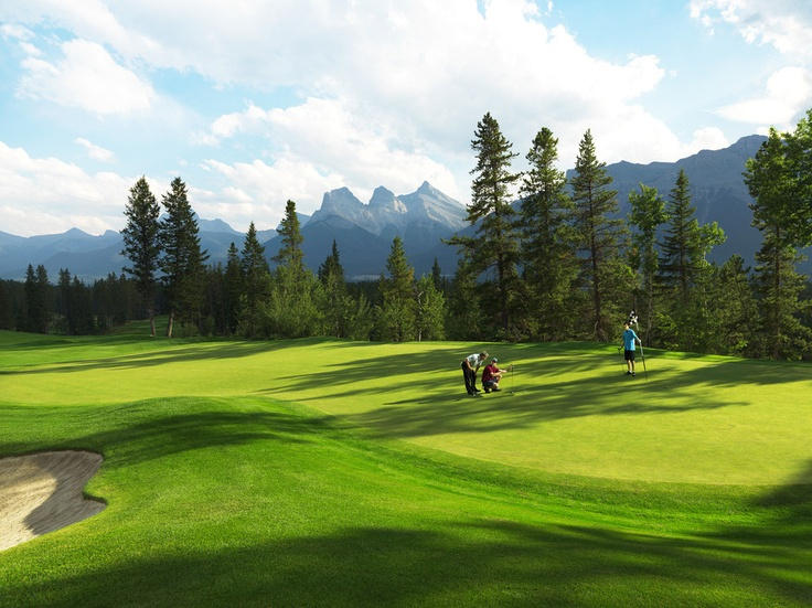 Presenting Silvertip Golf Resort - in the towering Canadian Rocky Mountains