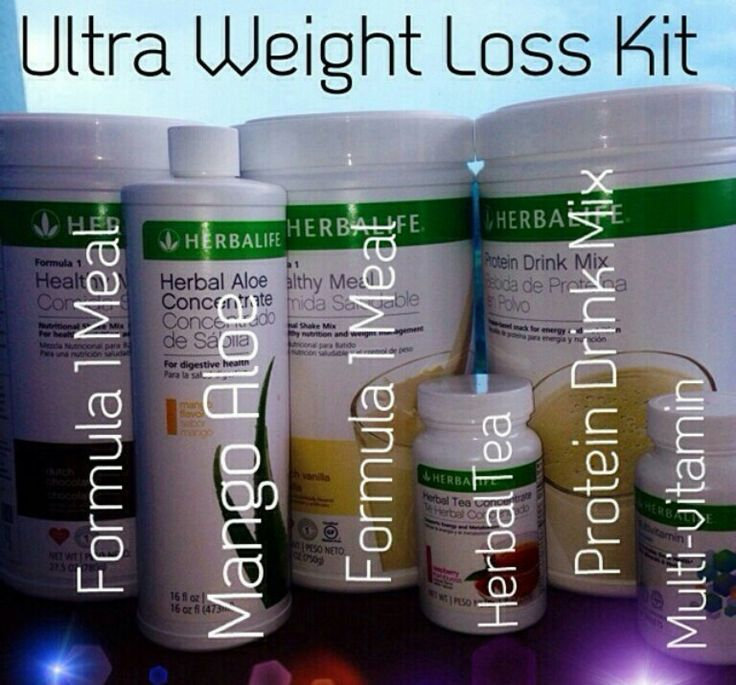 herbalife weight loss product order