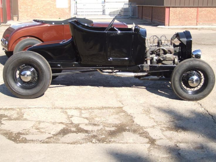 T roadster, hand built '24 body with turtle deck on A