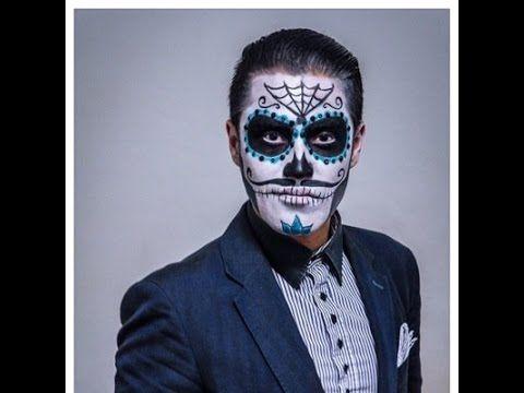 Tutorial de Maquillaje para Catrín... con Alan Cariño e Iya Rey - YouTube