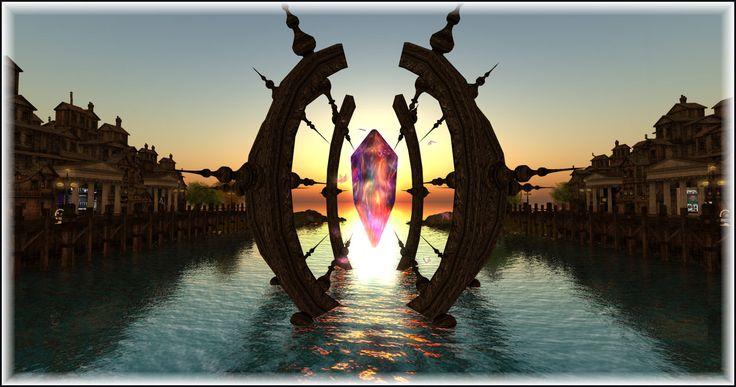 https://flic.kr/p/FXGKkZ | Crystal Sunset | @ The Fantasy Faire Lucentia Sim