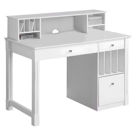 white gray solid wood office. Deluxe Solid Wood Desk With Hutch White Walker Edison Target Gray Office D