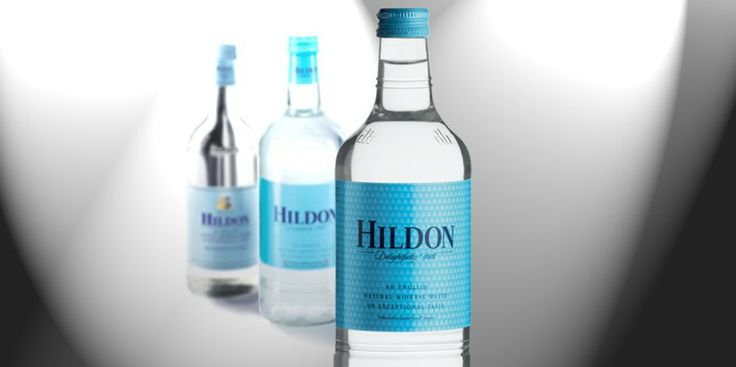 Hildon Bottle Design | Hildon Natural Mineral Water ...