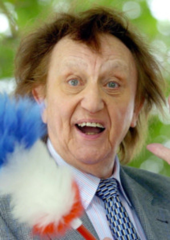 Ken Dodd Britain's greatest comedian :) Never be another