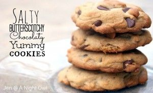 Salty Butterscotch Chocolate | Biscuits and Cookies and Shortbread ...