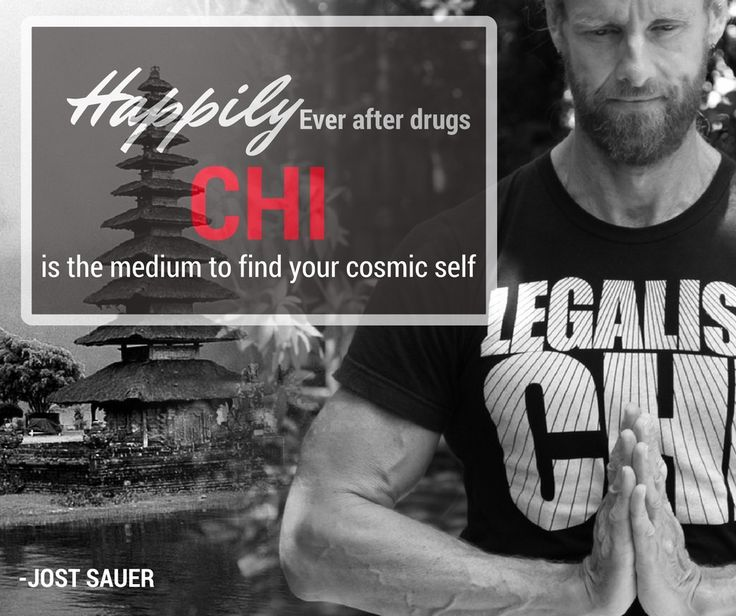 Happily ever after drugs. CHI is the medium to find your cosmic self.