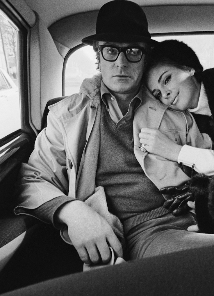 Michael Caine & Anjanette Comer, 1966 by Terry O'Neill