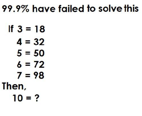 Solve this maths