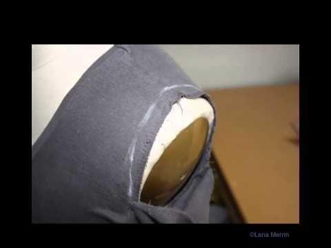 How to shorten a shoulder in finished garment and how to shorten a sleeve at the shoulder