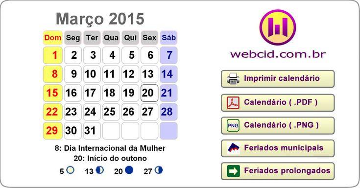 Calendário 2017 de Belo Horizonte-MG para imprimir com feriados, fases da lua, carnaval, páscoa. Escolha e imprima o modelo e formato do calendário 2017.