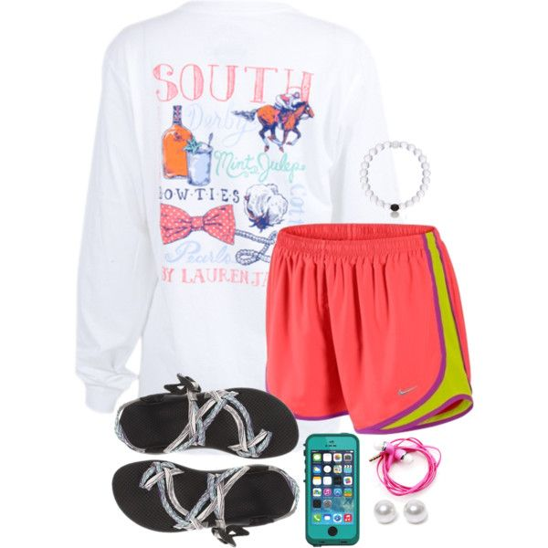 ♡The south is where love, family, and tradition is the sugar in our tea♡ by kaley-ii on Polyvore featuring NIKE, Chaco, Nouv-Elle and Samsung