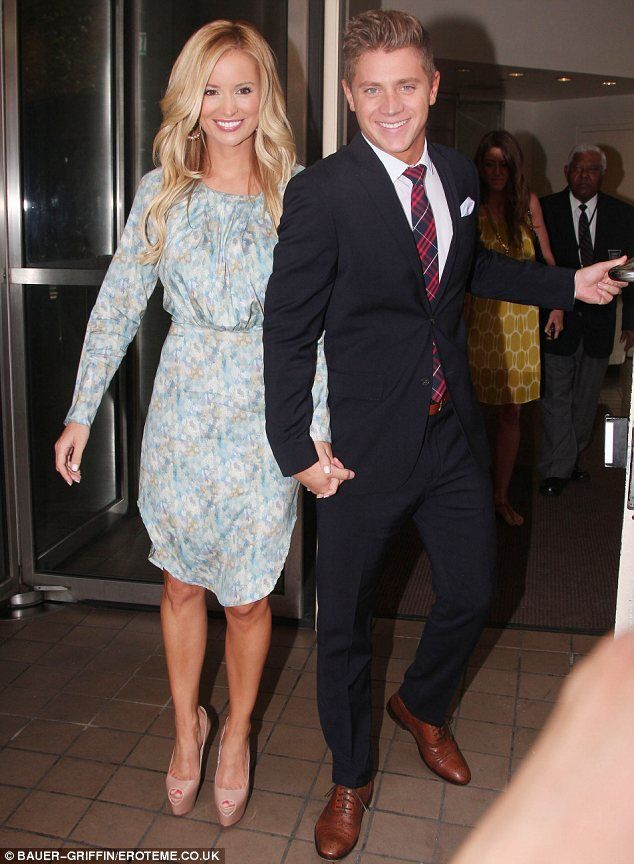 'Bachelorette' Emily Maynard and Jef Holm left the ABC studios in New York hand in hand today.
