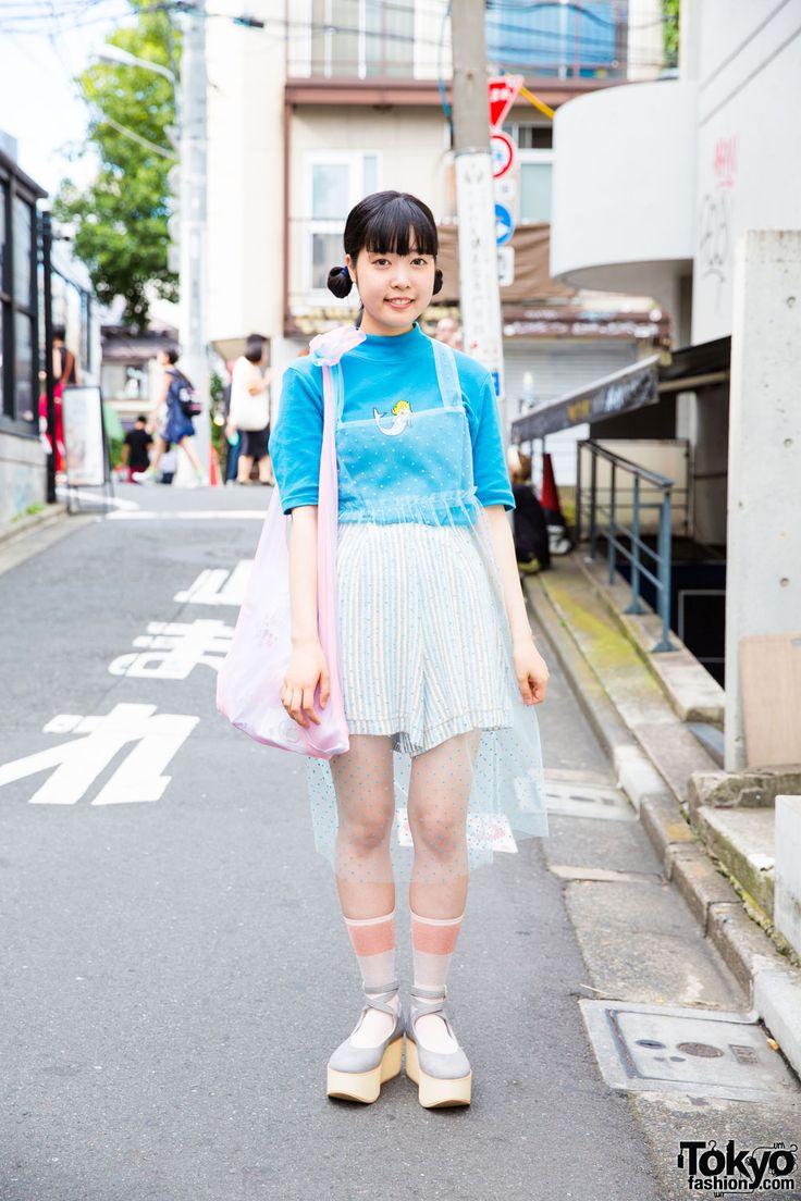 Kaede, student, designer   3 September 2016   #Fashion #Harajuku (原宿) #Shibuya…