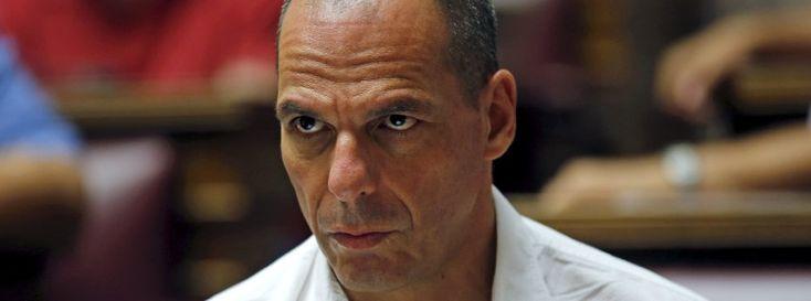 Varoufakis im griechischen Parlament am 10. Juli: Immer schön nachtreten