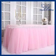 Resultado de imagen para faldones de tul para mesas - Como hacer una manteleria ...
