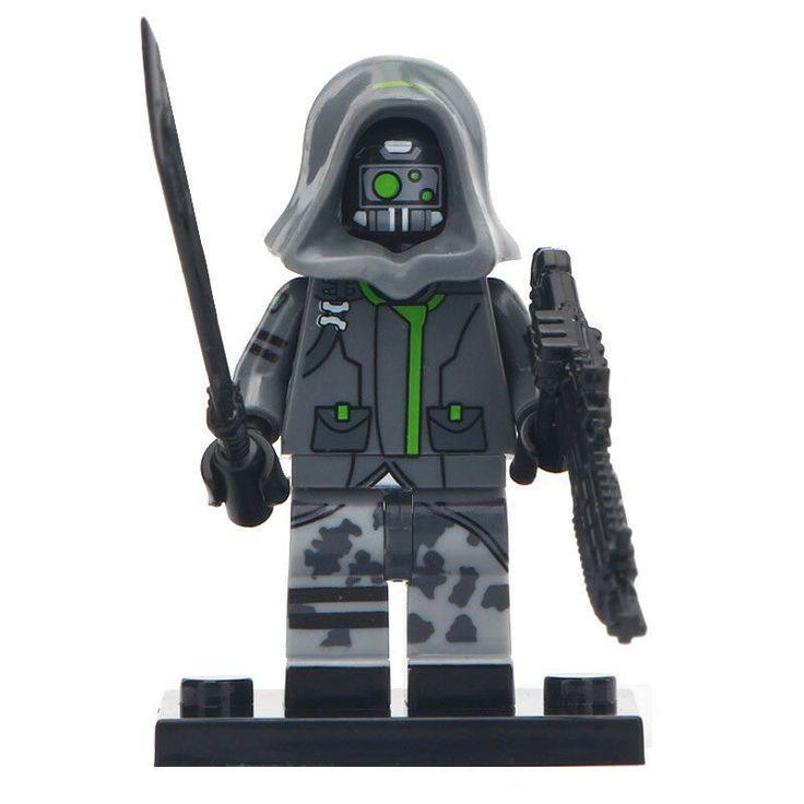 Fortnite Legendary Skin Lego Moc Minifigure Gift For Kids Red Knight