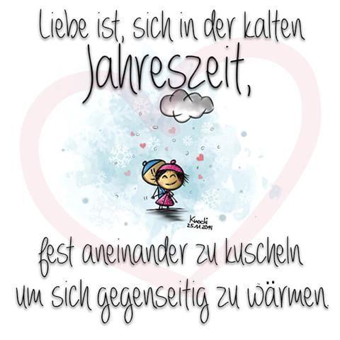 ️ #Liebe ist,sich in der kalten #Jahreszeit , fest ...