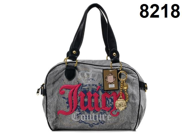 Juicy Couture Womens In The Mix Faux Fur Faux Leather Trim Satchel Handbag.