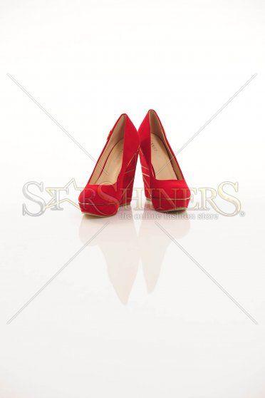 Pantofi Colour Rush Red