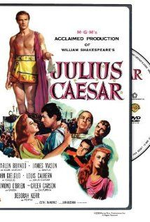 Julius Caesar (1953) / HU DVD 9161 / http://catalog.wrlc.org/cgi-bin/Pwebrecon.cgi?BBID=7109659