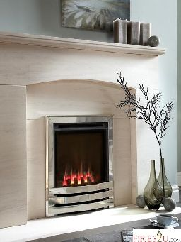 The Flavel Windsor slimline high efficiency gas fire boasts an incredible 89% net efficiency and will fit almost any chimney or flue, including Pre-Cast. This HE gas fire also features a large viewing window and maxi