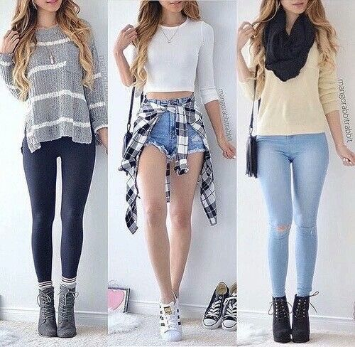 Ropa, outfit, jean, short, moda