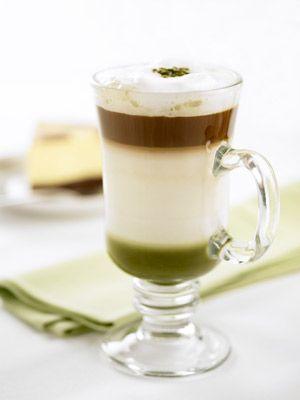 green tea chocolate latteLatte Yum, Teas Chocolates, Recipe, Matcha Green Teas, Coffee, Russian Food, Drinks, Chocolates Latte, Teas Rrif