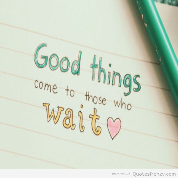 Wait On Love Quotes: Love LoveQuotess ImagewithQuotess Sayings Quotations