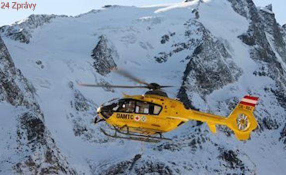 České horolezkyni v Rakousku došly síly, zachránil ji vrtulník
