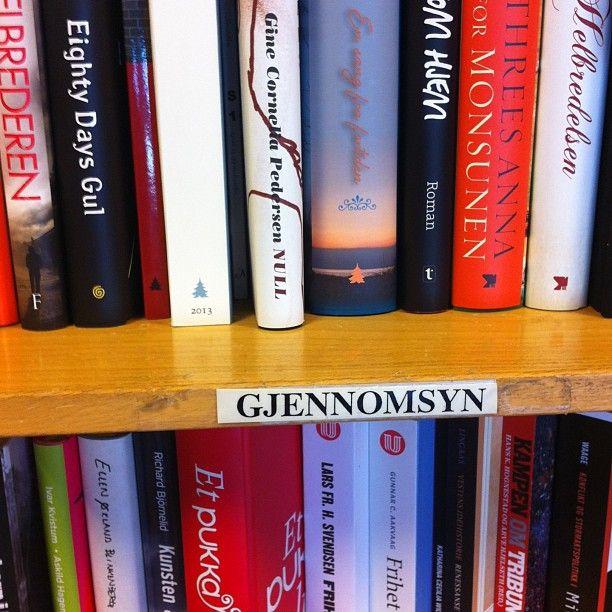 """@sandefjordbibliotek's photo: """"#gjennomsyn #mittbibliotek #sandefjordbibliotek #bøker"""""""