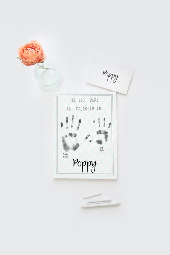 Father's Day for poppy Poppy gift best dad by Papierscharmants