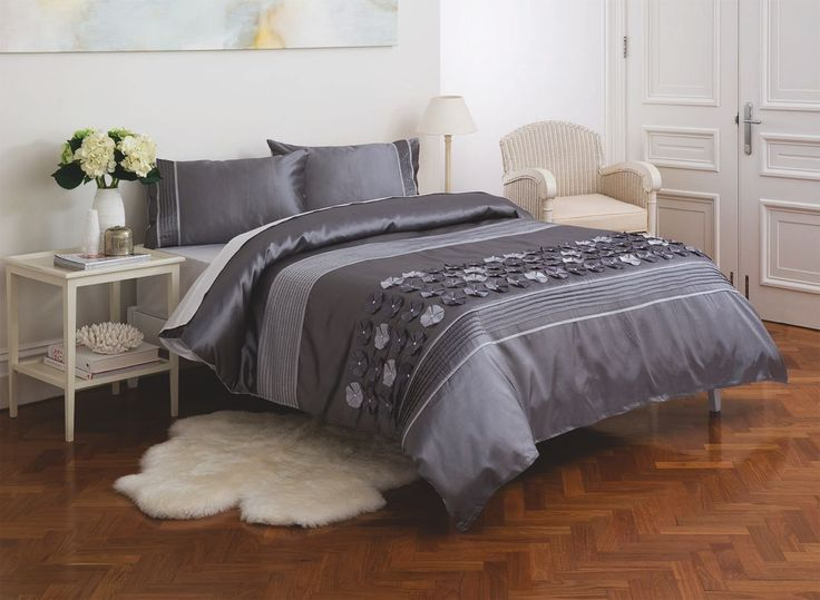 The Diamondy quilt cover set is one the designs in the new 'Esk' manchester range created exclusively for Fantastic Furniture by KAS Australia. Double $89, Queen $99, King $109.